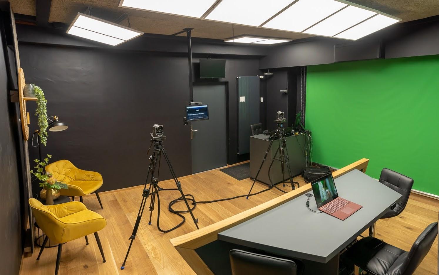 Panorama du studio 1