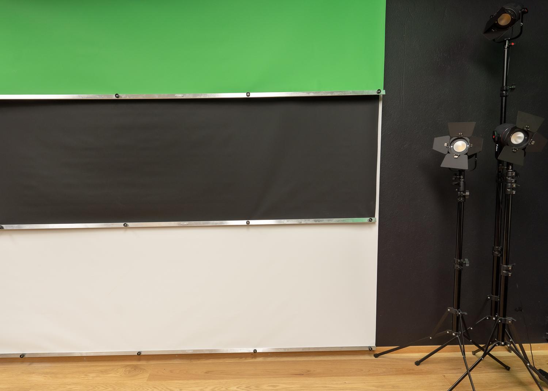 Divers environnements de tournage